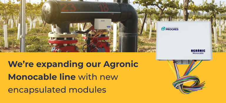 We're expanding our Agronic Monocable line with new encapsulated modules
